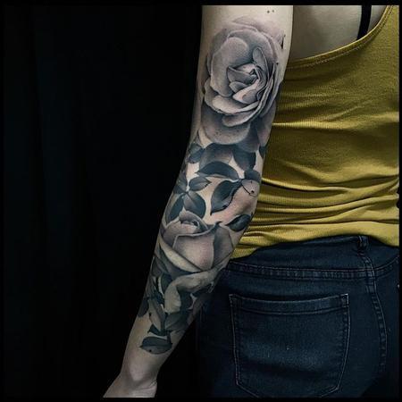 Rose Sleeve Design Thumbnail