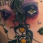 Hekate Moon Gypsy Tattoo Design Thumbnail