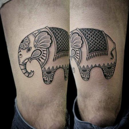Tattoos - Elephant - 102512