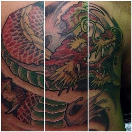Tattoos - Japanese Dragon - 108613