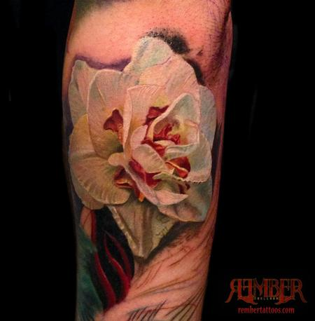 White Flower, Color Realism Design Thumbnail