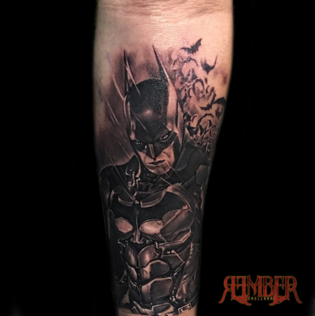 Rember - Batman in Black and Grey