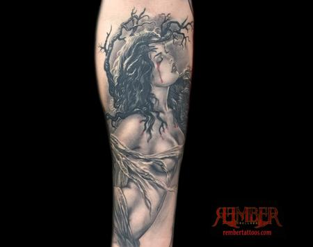Tattoos - Pained Lady - 109505