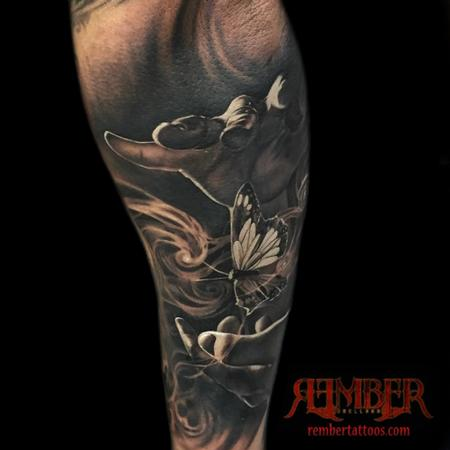 Rember, Dark Age Tattoo Studio - Magician