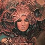 Tattoos - Art Nouveau Portrait - 108182