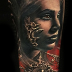 Tattoos - Gothic Portrait - 104110