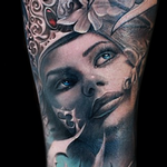 Tattoos - Gothic Realism Portrait - 103799