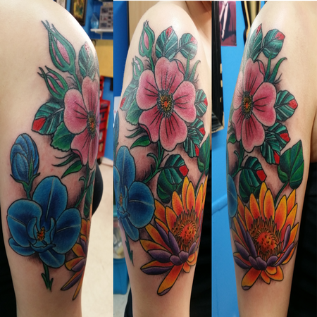 Tattoos - Flowers  - 116908