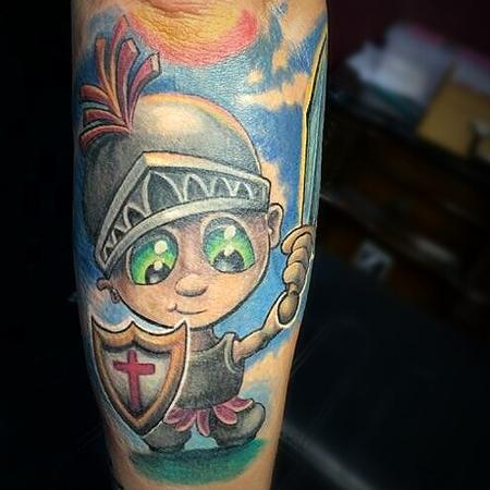 Tattoos - Crusader - 106210