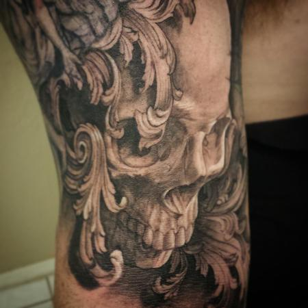 Tattoos - Skull Tattoo - 101346