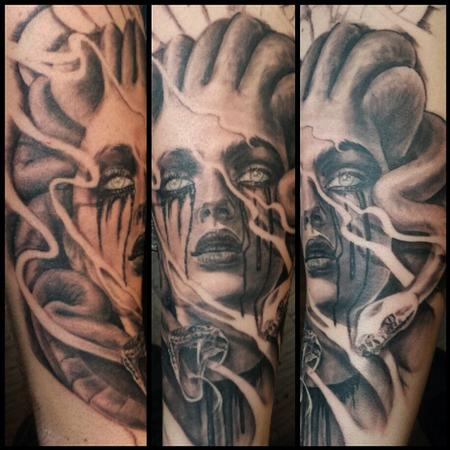 Tattoos - Medusa Tattoo - 101347