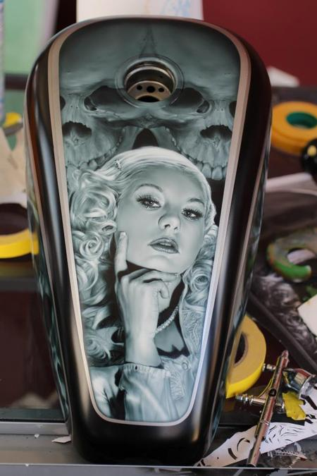 Ryan Townsend - Airbrush Portrait