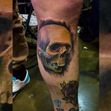 Saint Karlos - Color realism Skull