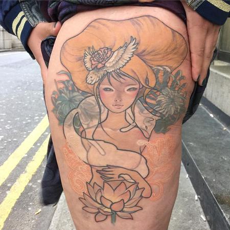 Sam Ford - Audrey Kawasaki Tattoo