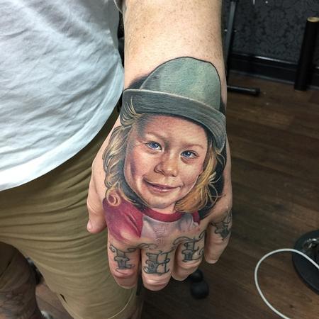 Sam Ford - Child Portrait Tattoo