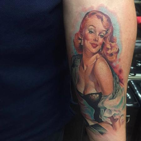 Sam Ford - Color Pinup Tattoo