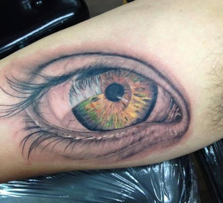 Sam Ford - Realistic Eye Tattoo