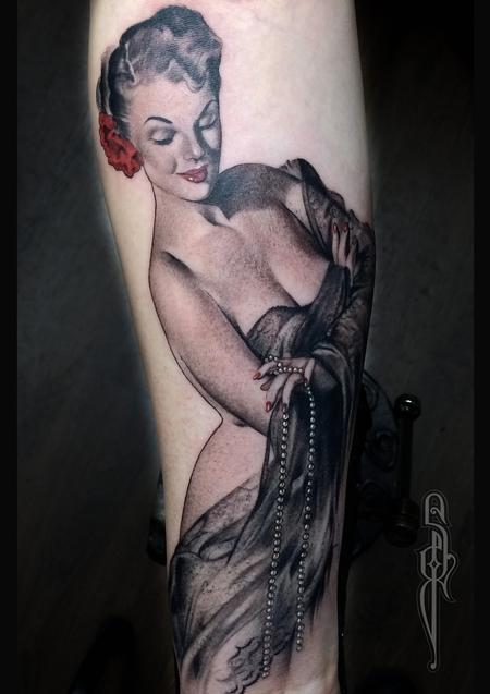 Tattoos - Gil Elvgren Pin up - 122227
