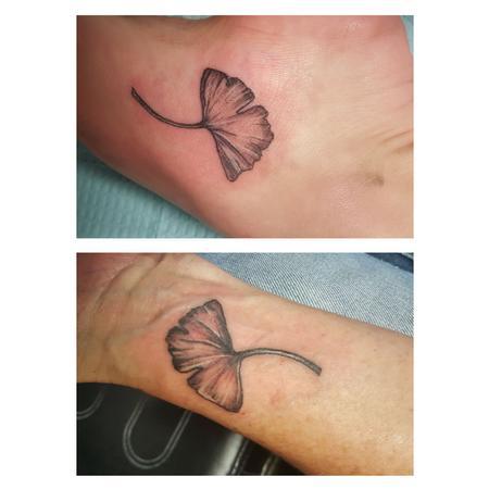 Tattoos - ginkgo - 114175