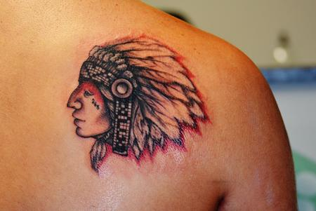 Tattoos - onarga indian - 114184