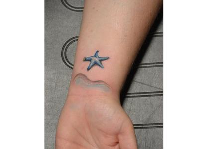 Tattoos - starfish - 114189