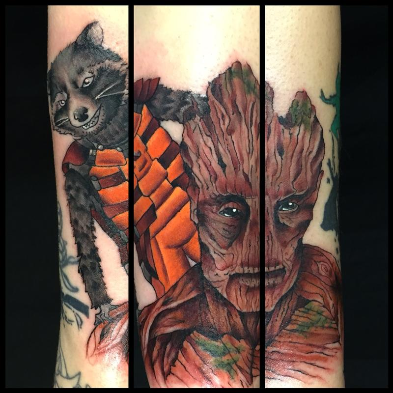 In Progress Guardians Of The Galaxy Sleeve By Sara Eve