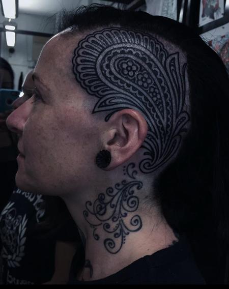 Tattoos - Ornamental Blackwork - 125461