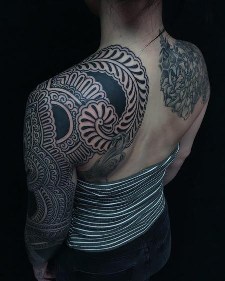 Tattoos - Ornamental Blackwork - 125463