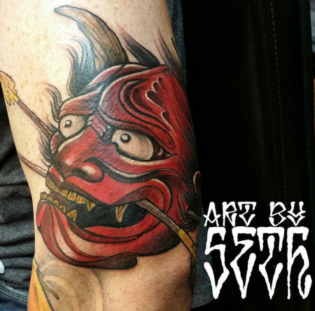Hannya Mask Tattoo Thumbnail