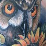 Owl Tattoo Tattoo Design Thumbnail