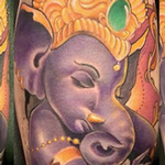 Ganesh Tattoo Design Thumbnail