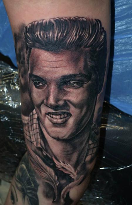 Tattoos - Elvis Portrait - 98932