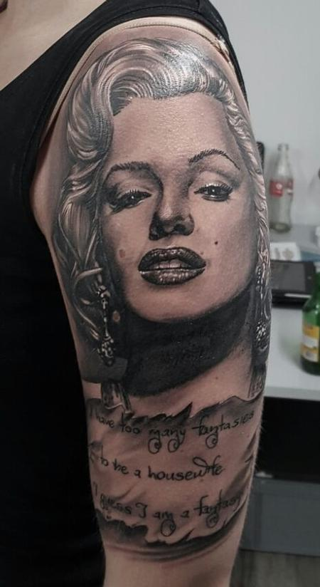 Tattoos - Marilyn Monroe - 112424