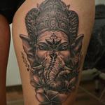 Ganesa Tattoo Design Thumbnail