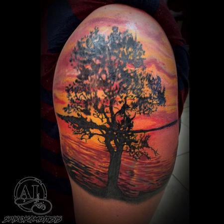 Tattoos - Tree - 111460