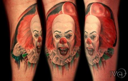 Tattoos - Pennywise is coming to town!! - 99021