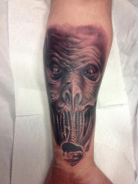 Tattoos - Snake Monster - 98947