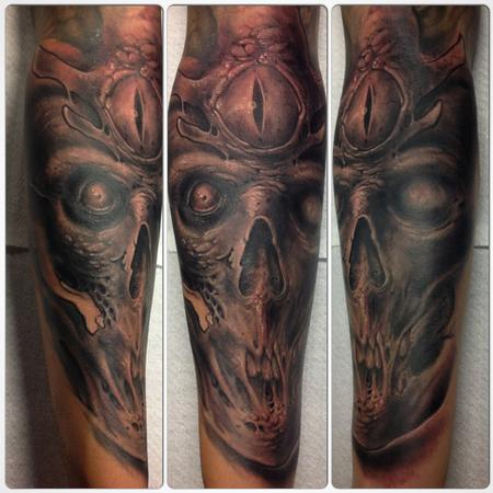 Tattoos - Third Eye Skull - 98948