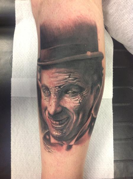 Tattoos - Trasfigured Charlie Chaplin  - 98949