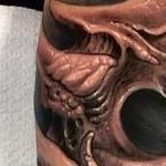 Bio is light. Tattoo Design Thumbnail