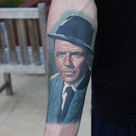 Frank Sinatra Tattoo Tattoo Design Thumbnail