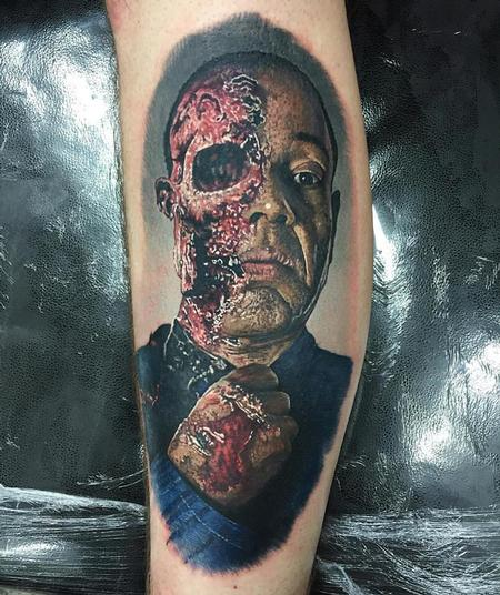 Steve Butcher - Walking Dead Zombie Tattoo
