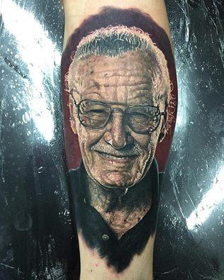 Stan Lee Tattoo Tattoo Design Thumbnail