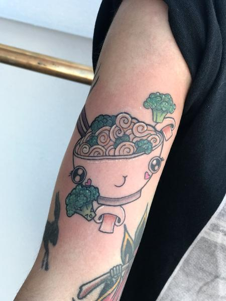 Tattoos - Kawaii_stirfry_and_broccoli - 132391