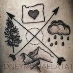 PNW Tattoo Design Thumbnail