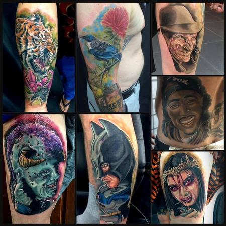 Terence Tait - latest tattoos