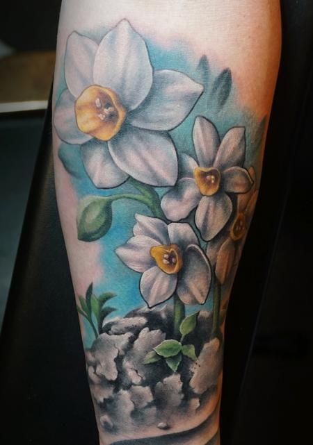 Tattoos - concret flowers - 119393
