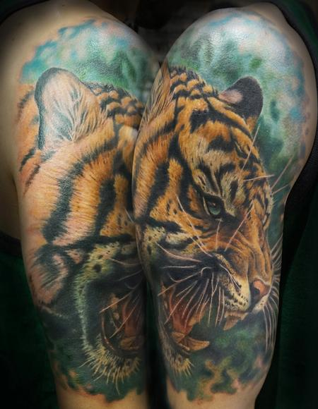 Tattoos - Tiger - 119260