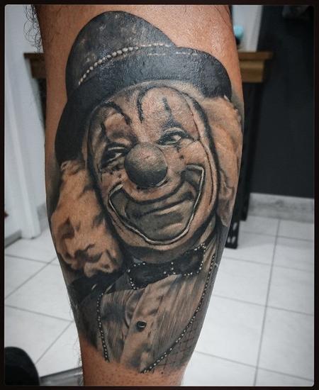 Tattoos - Vintage Clown - 116382