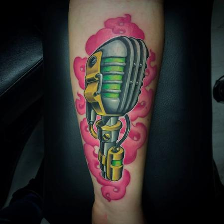 Tattoos - microphone - 104830